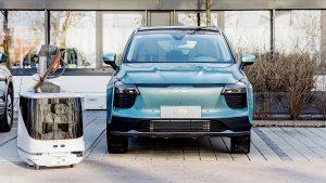 شارژ رباتیک خودرو برقی
