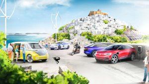 خودرو برقی در یونان